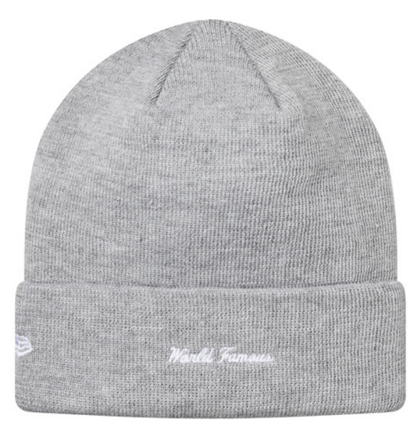 Supreme Box Logo New Era Beanie FW18(Grey)