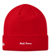Supreme Box Logo New Era Beanie FW18 (Red)