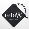 RetaW Fragrance Car Tag