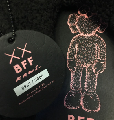 KAWS Black BFF Plush Toy