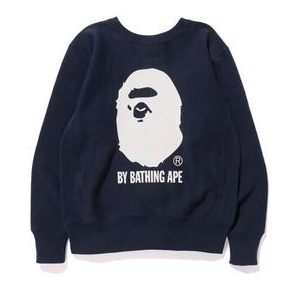 Bape x Champion crewneck (Navy)