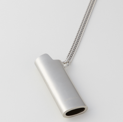 Ambush Lighter Case Necklace (Silver)