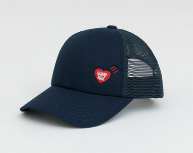 Human Made Heart Wappen Mesh Cap (Navy)