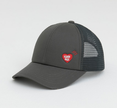 Human Made Heart Wappen Mesh Cap (Grey)