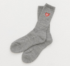 Human Made Socks (White/Grey)