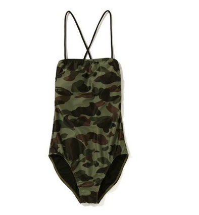 Bape Camo Swimsuits (Green)