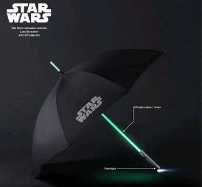 Star Wars Umbrella (Green)