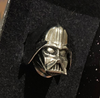 Disney Stainless Steel Darth Vader Ring (Silver)