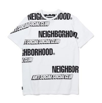 ASSC x Neighborhood Japan Multi Tee (White)(AntiSocialSocialClub)