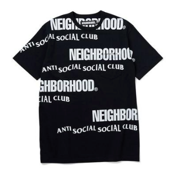 ASSC x Neighborhood Japan Multi Tee (Black)(AntiSocialSocialClub)