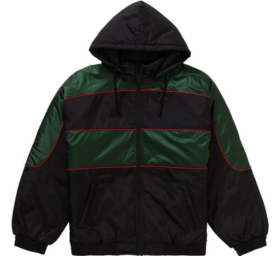 Supreme Sports Piping Puffy Jacket (Black)