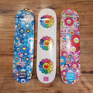 ComplexCon Takashi Murakami Flower Skateboard - Set of 3 (Multi)