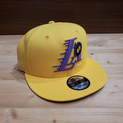 Takashi Murakami ComplexCon x Los Angeles Lakers Eye Cap (Gold)