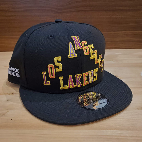 Takashi Murakami ComplexCon x Los Angeles Lakers Triangle Cap (Black)