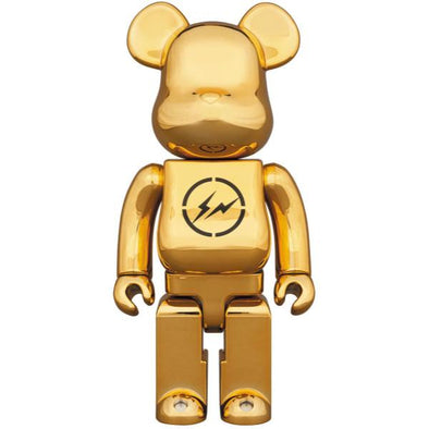 THE CONVENI Fragment Design BE@RBRICK (GOLD) 400%
