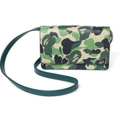 BAPE ABC Wallet Shoulder Bag (Green)