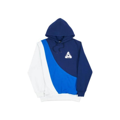 Palace Sweeper Hood (Navy/Blue/White)