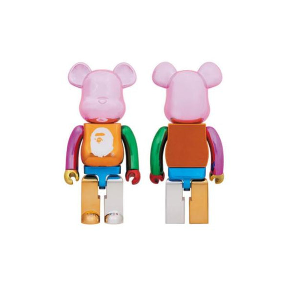 Bape 25th Anniversary Multi-Colored Foil BE@RBRICK 400%