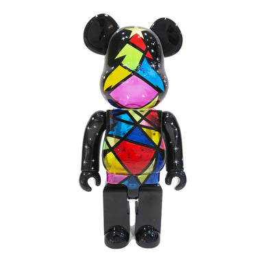 Merry Christmas 2016 Staind Glass Tree 400% Be@rbrick