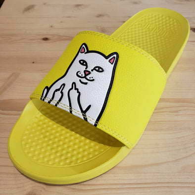 RIPNDIP Lord Nermal Slides (Safety Yellow)