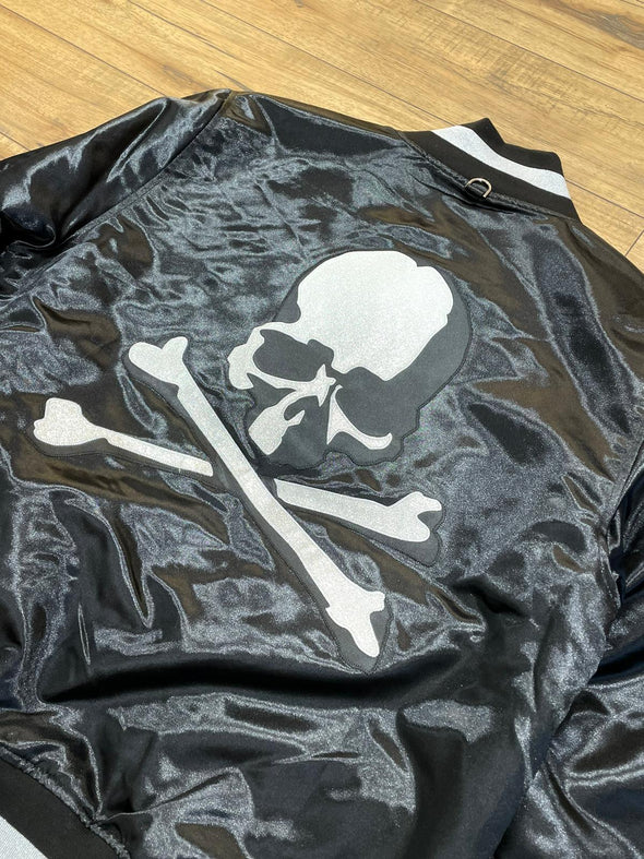 Mastermind Japan x Mitchell & Ness satin baseball jacket