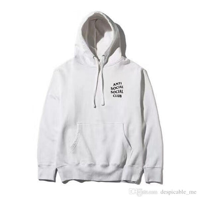 ASSC Mind Game White Hoodie (AntiSocialSocialClub)