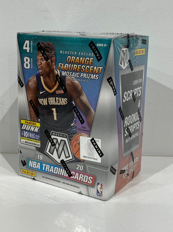 2019-2020 Panini mosaic Basketball Cards (4cards/pack, 8 packs)
