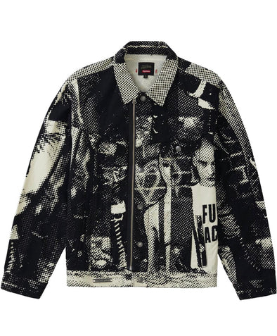 Supreme JPG Printed Trucker Jacket