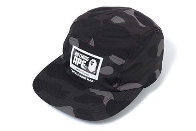 BAPE COLOR CAMO JET CAP (Black)