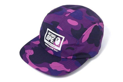 BAPE COLOR CAMO JET CAP (Purple)