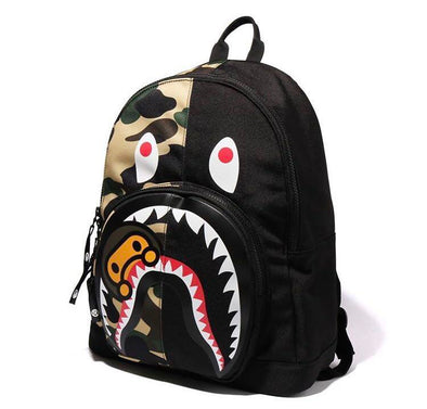 Bape 1st Camo Shark Milo Backpack