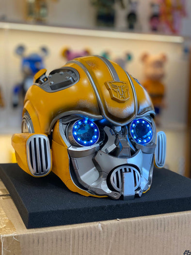 Bumblebee Helmet with Voice Control and Bluetooth Speaker