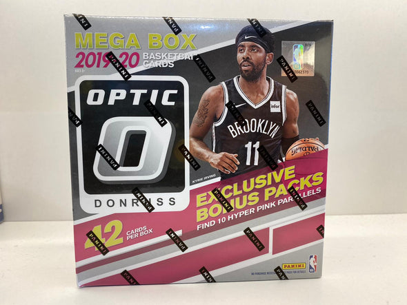 2019-20 Panini Donruss Basketball Mega Box 42 Cards Box(Exclusive Bonus Packs)