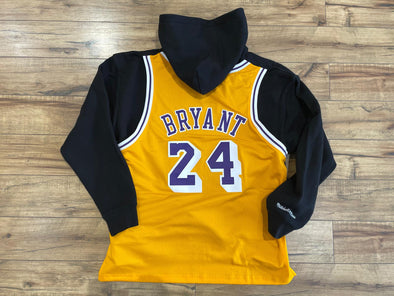 Just Don x Mitchell & Ness x Kobe Jersey Hoodie