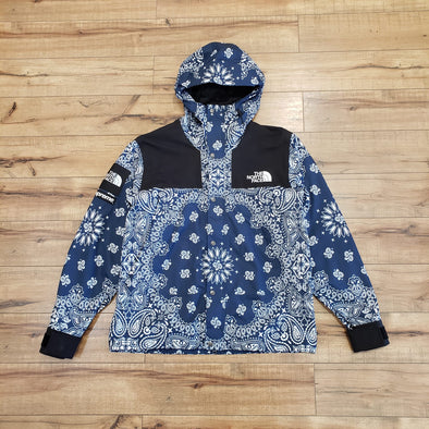Supreme The North Face Bandana Mountain Jacket (Navy)