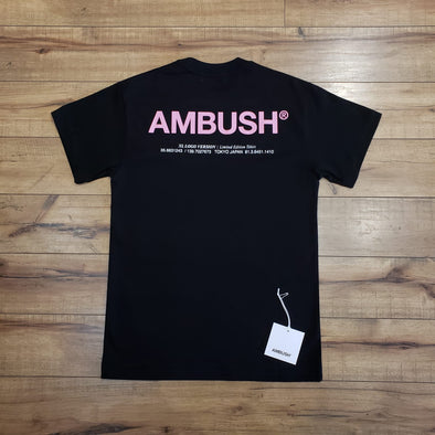 Ambush XL logo T-Shirt (Black)