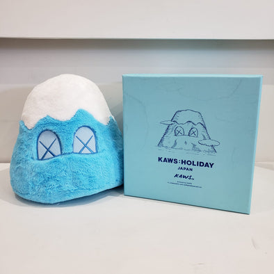"KAWS : HOLIDAY JAPAN 8"" Mount Fuji Plush (Blue)"