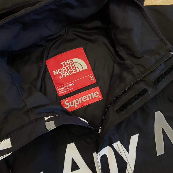 Supreme The North Face By Any Means Mountain Jacket (Black)
