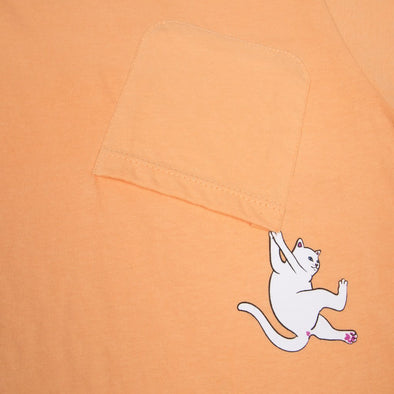 RIPNDIP Hang In There Pocket Tee (Orange)