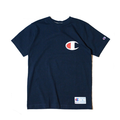 Champion Big Logo Tee (Navy)