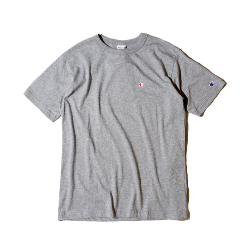 Champion Small Embroidery Tee (Grey)