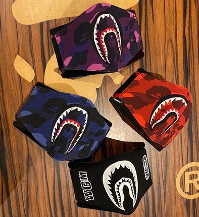 Bape Shark Mask (Blue/Red/Purple/Black)