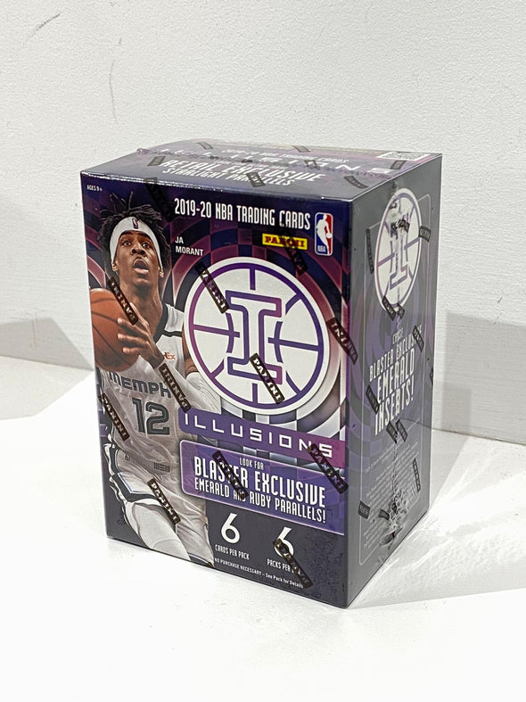 2019-20 PANINI ILLUSIONS BASKETBALL Sealed unopened Blaster Box set