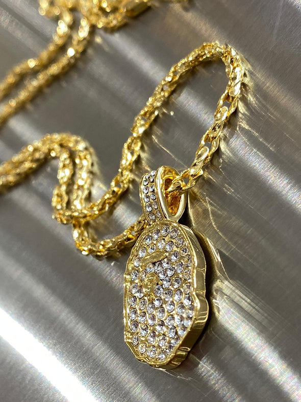 Bape Swarovski Necklace