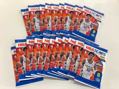 Panini 2020-21 NBA Hoops Basketball Card Pack (8cards)
