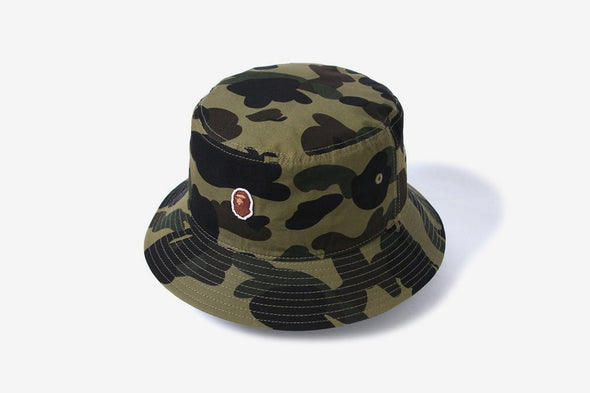 BAPE 1st Camo Bucket Hat (Green)