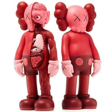 Kaws Companion Flayed Open Edition Vinyl Figure Blush Set