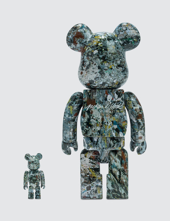 Jackson Pollock Be@rbrick 100% + 400% Set