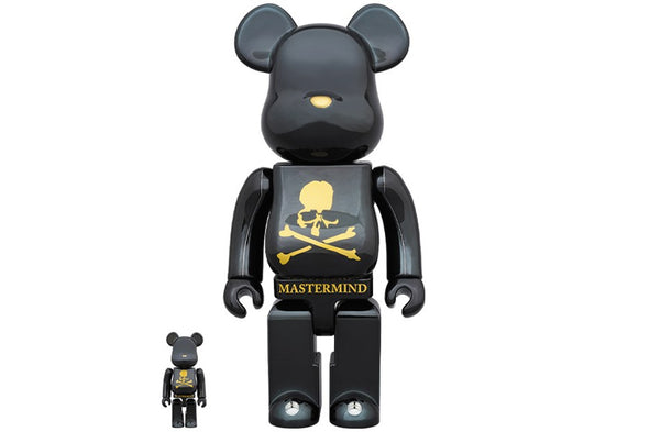 mastermind WORLD x MEDICOM Toy 100% & 400% BE@RBRICK