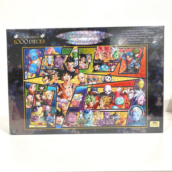 Dragon Ball Z Artcrystal Jigsaw 1000 Pieces Puzzle